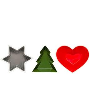 Prezentuję gwiazdki i choinki na świąteczny stół