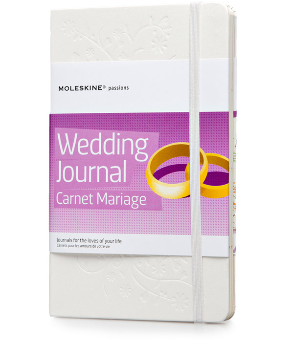 moleskine-wedding journal