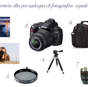 Prezentuję 7 prezentów dla początkujących fotografów zapaleńców