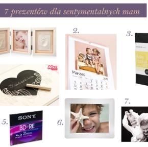Prezentuję 7 prezentów dla sentymentalnych mam