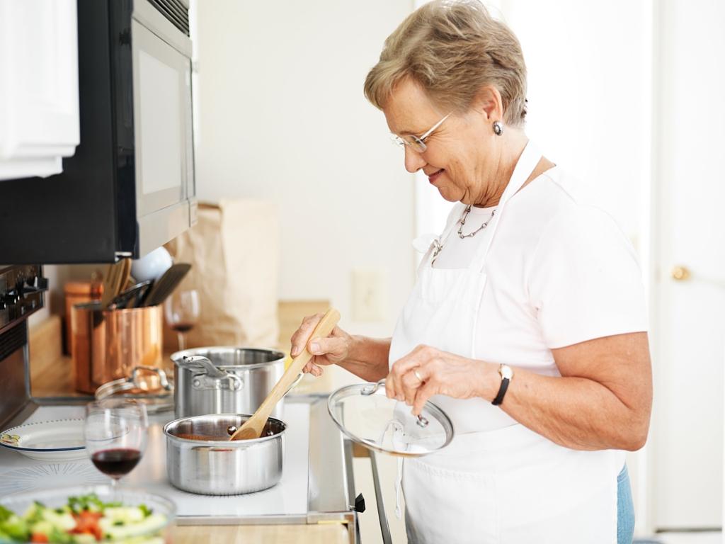 babcia gotuje