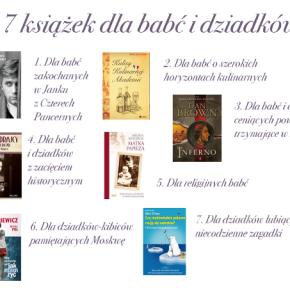 Prezentuję 7 książek dla babć i dziadków