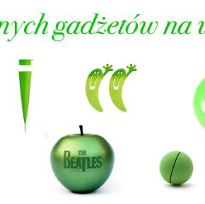 Prezentuję 7 zielonych gadżetów na wiosnę