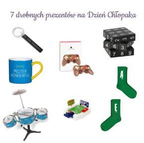 Prezentuję 7 drobnych prezentów na Dzień Chłopaka
