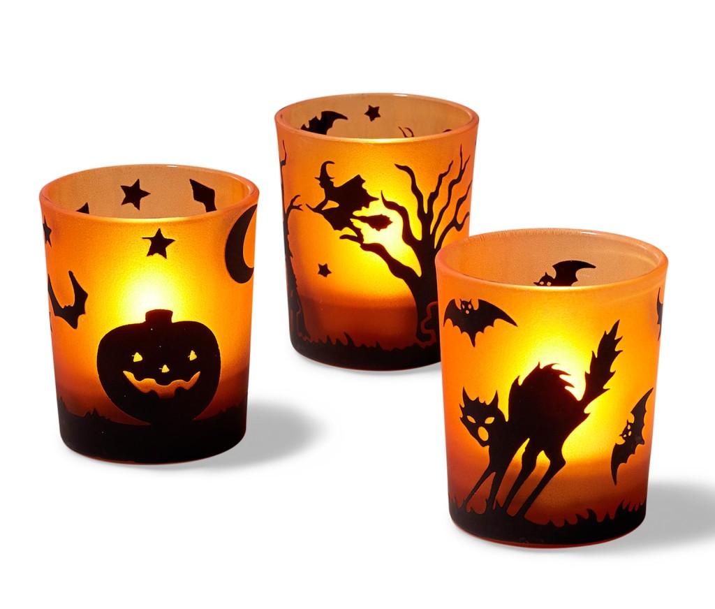 świeczniki Halloween