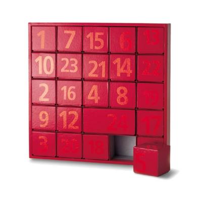 kalendarz adwentowy pudełko philippi