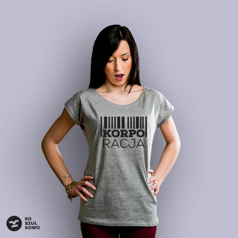 koszulka korporacja