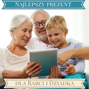 Prezentuję najlepszy prezent dla Babci i Dziadka
