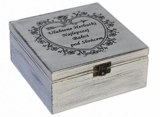 pudełko na herbatkę