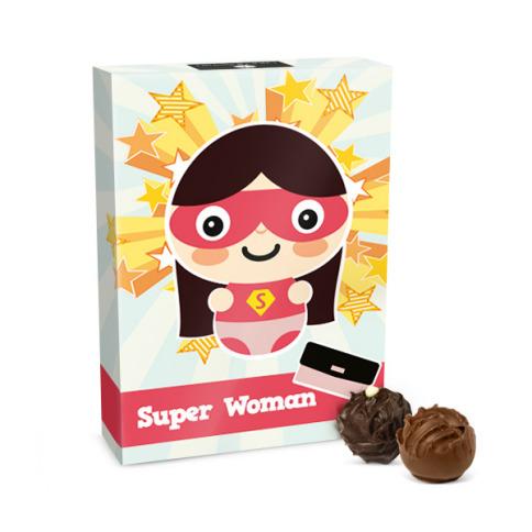 czekoladki super woman