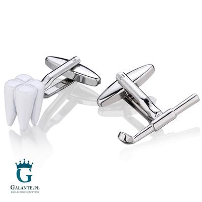 spinki dla dentysty galante